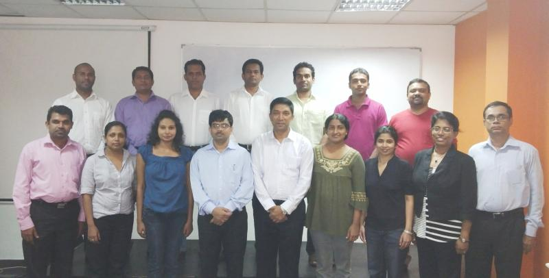 CSCM July 2013 Participants of Sri Lanka with ISCEA Instructors